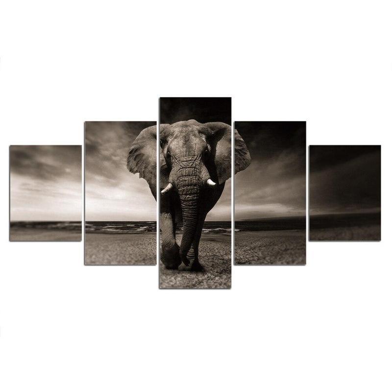 Tableau Éléphant Majestueux
