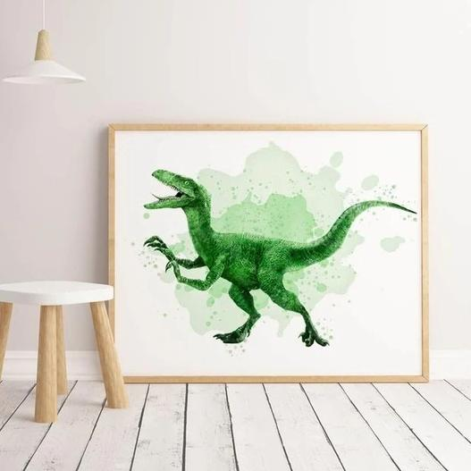 Poster Mural Géant Dinosaure