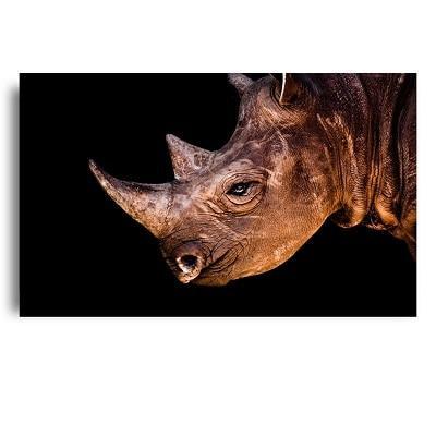 Toile Rhinoceros Féroce