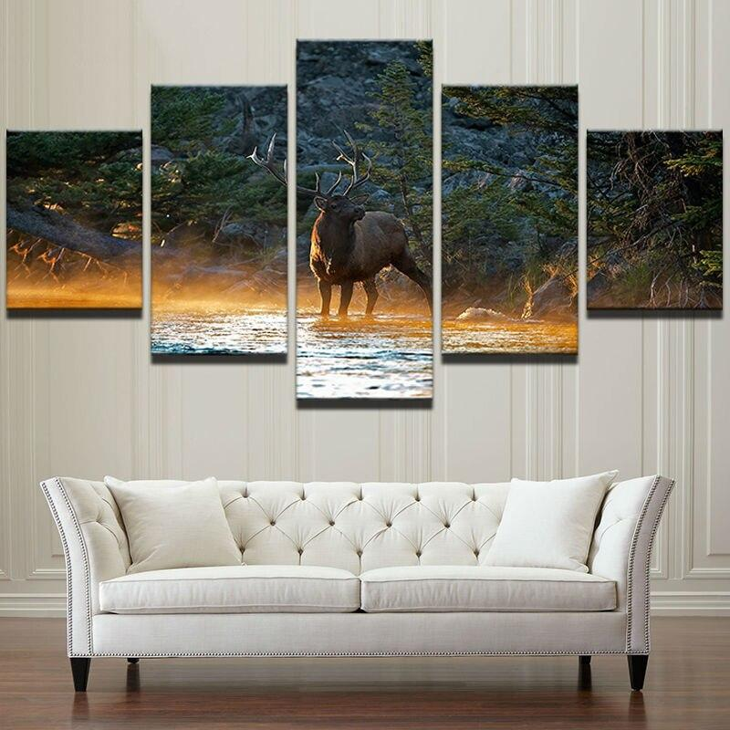 Tableau Animaux Cerf