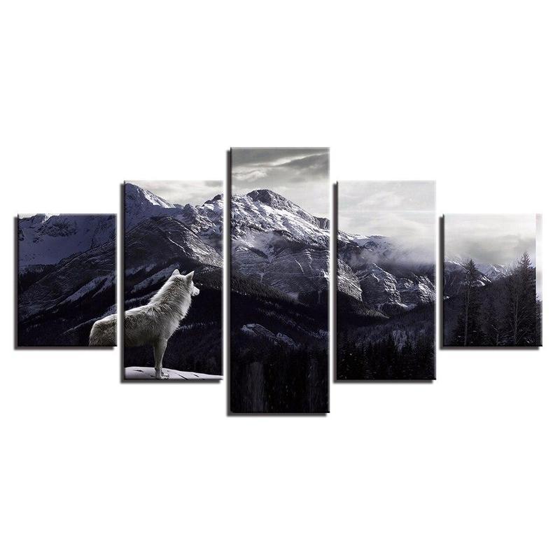 Tableau Animaux Montagne