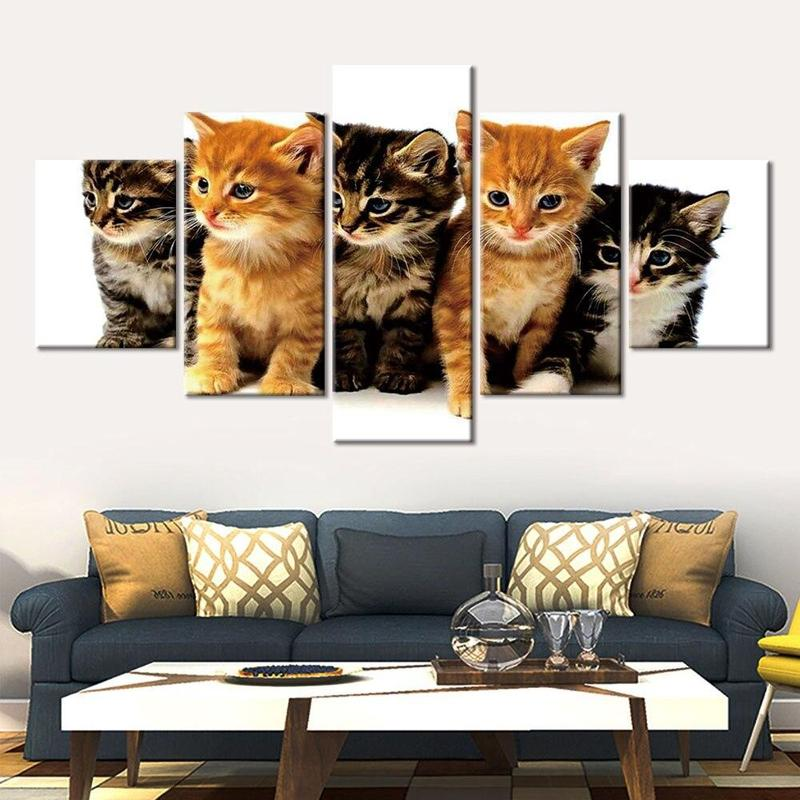 Tableau Homme Chat