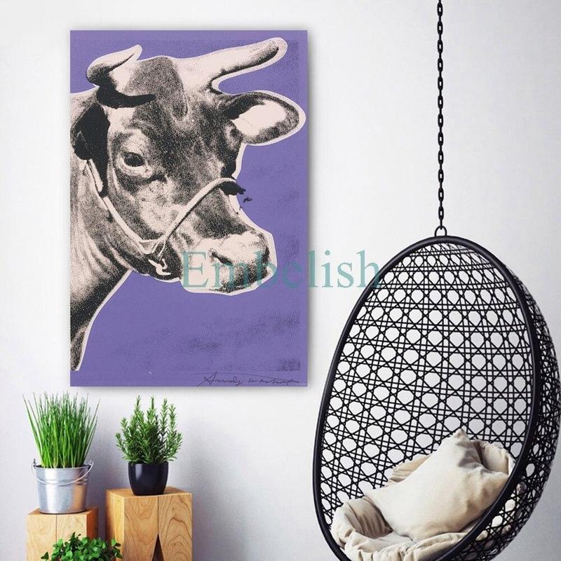 Tableau Vache Moderne