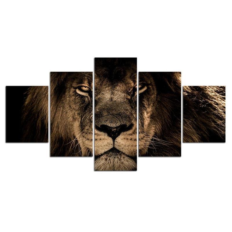 Tableau Déco Lion