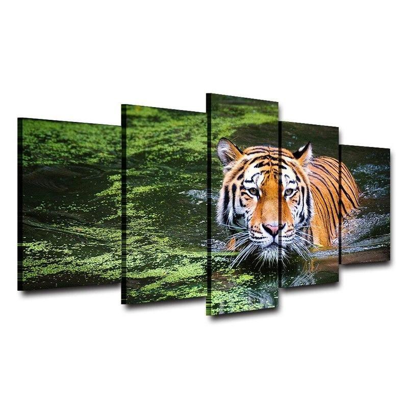 Tableau Tigre Sauvage