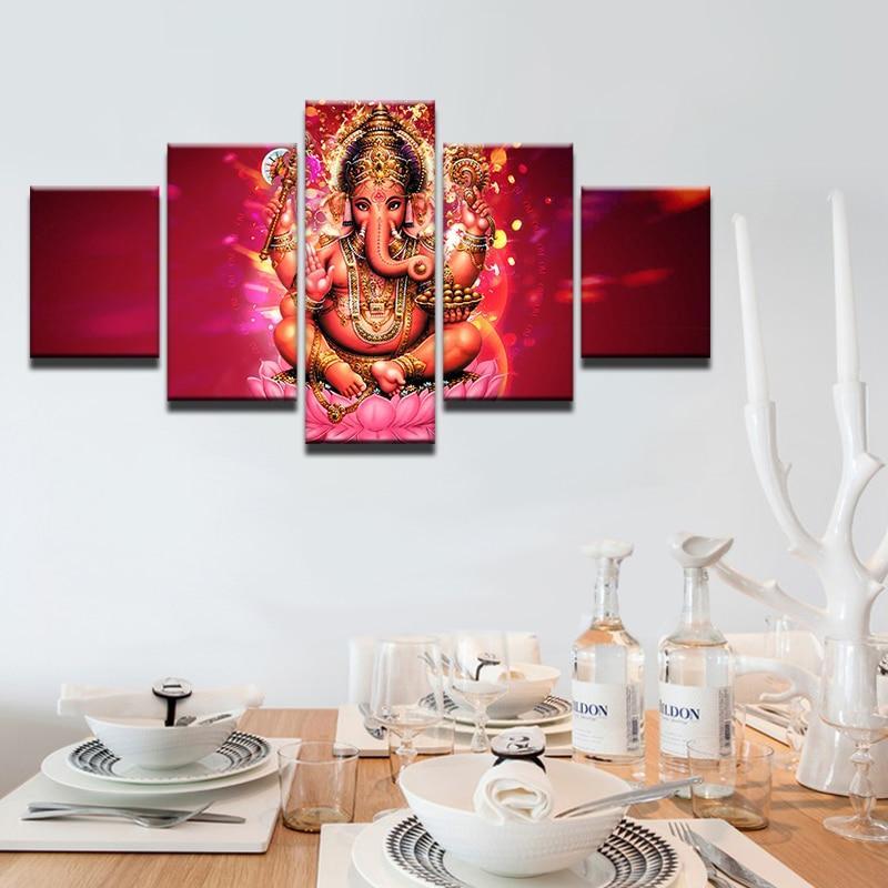 Tableau Ganesh Envoutant