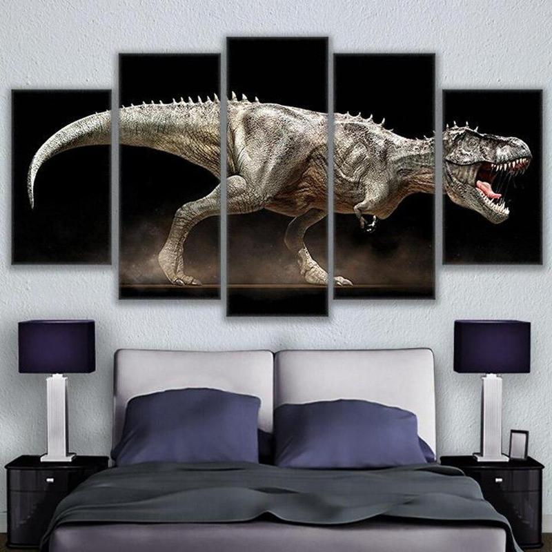 Tableau Dinosaure Enragé