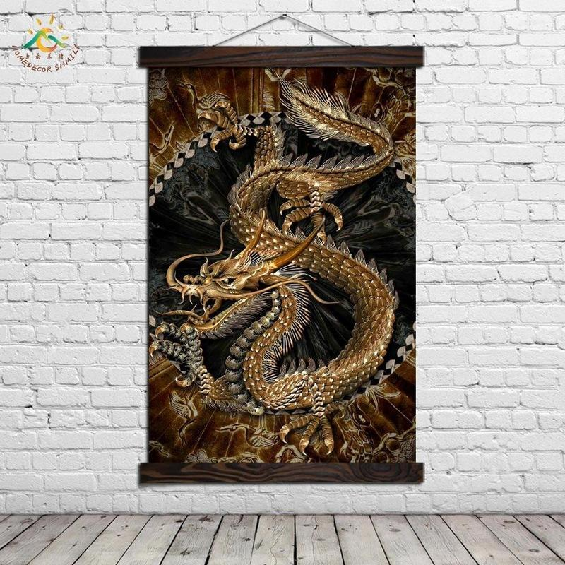 Tableau Dragon Chinois