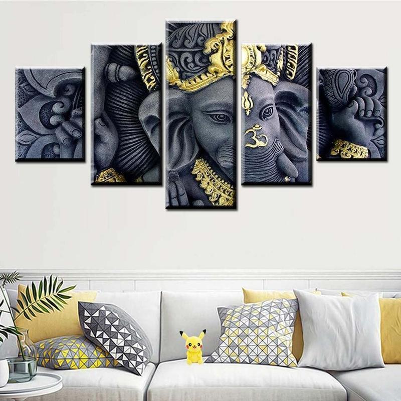 Tableau Décoratif Ganesh
