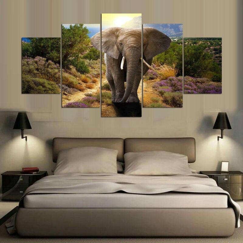 Tableau Éléphant Imposant