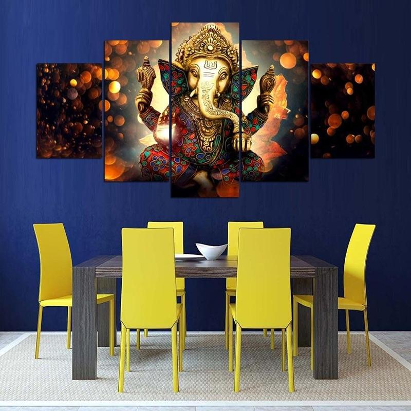 Tableau Ganesh en Paix