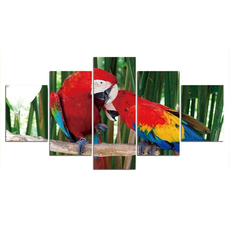 Tableau Perroquet de la Jungle