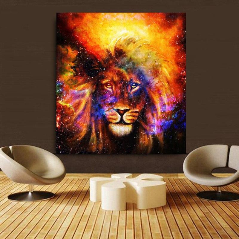 Tableau Toile Lion