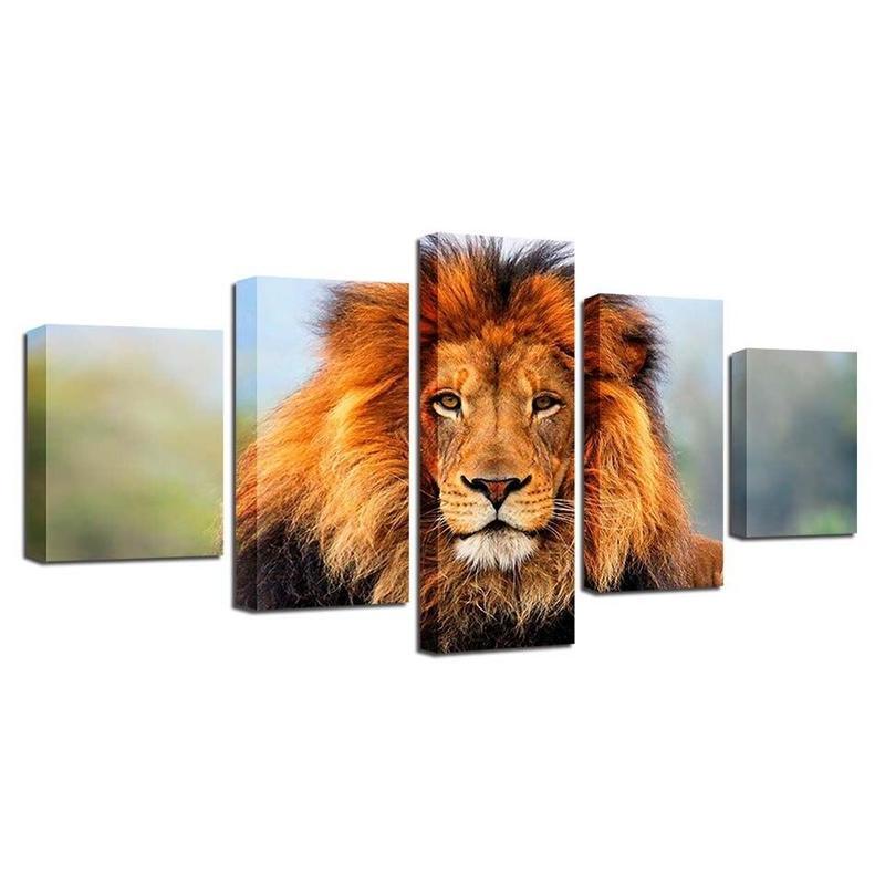 Tableau Lion XXl