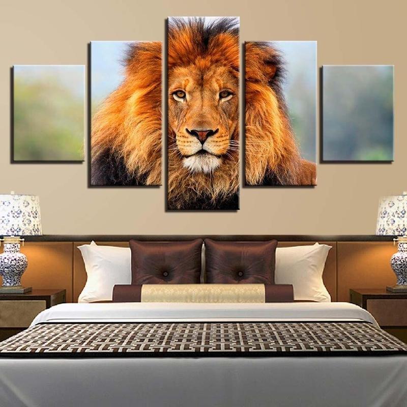 Tableau Lion Charismatique