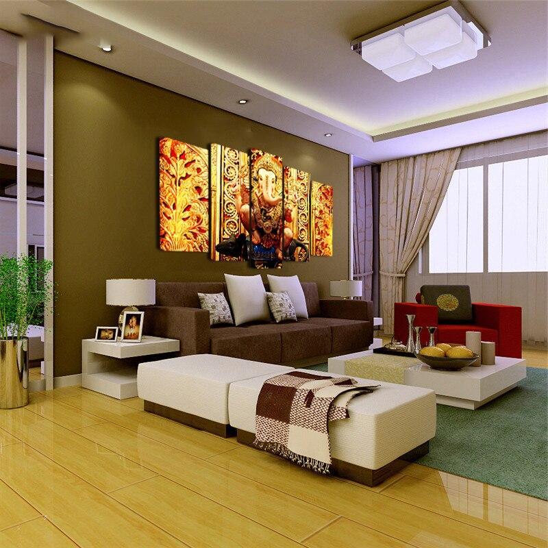 Tableau Mural Ganesh