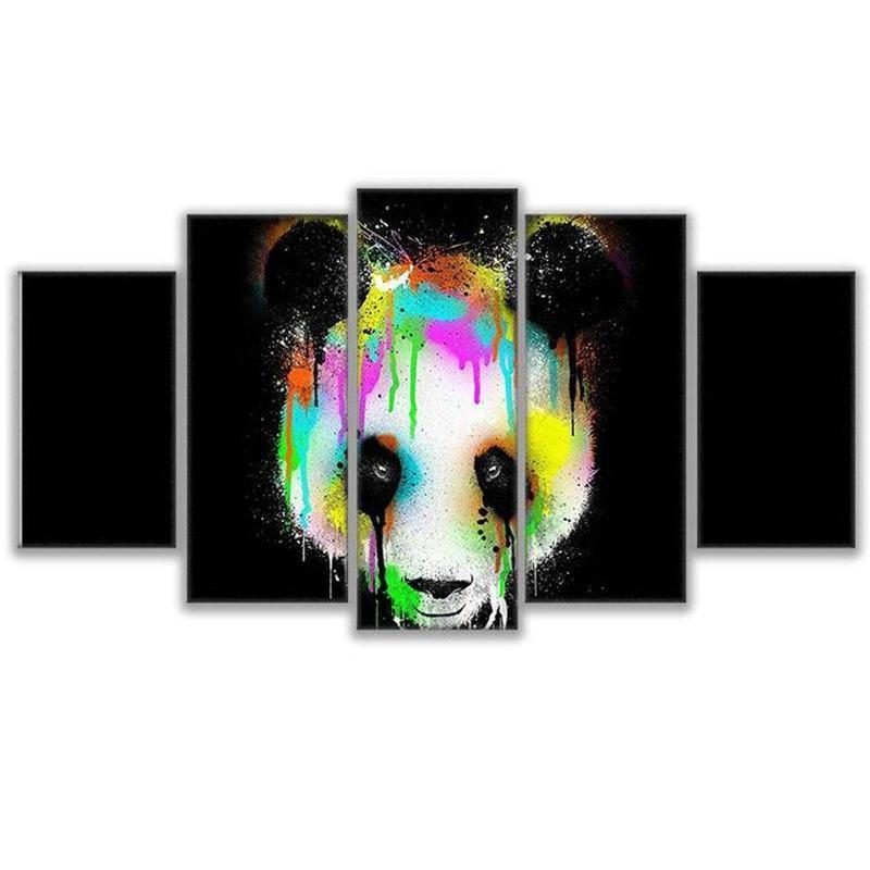 Tableau Panda Deco