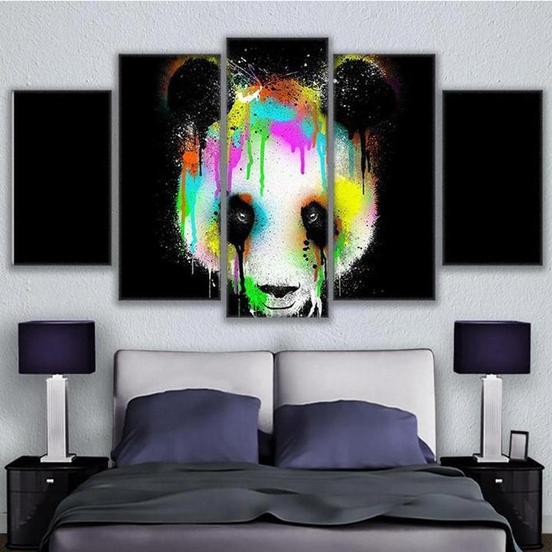 Tableau Panda Couleur