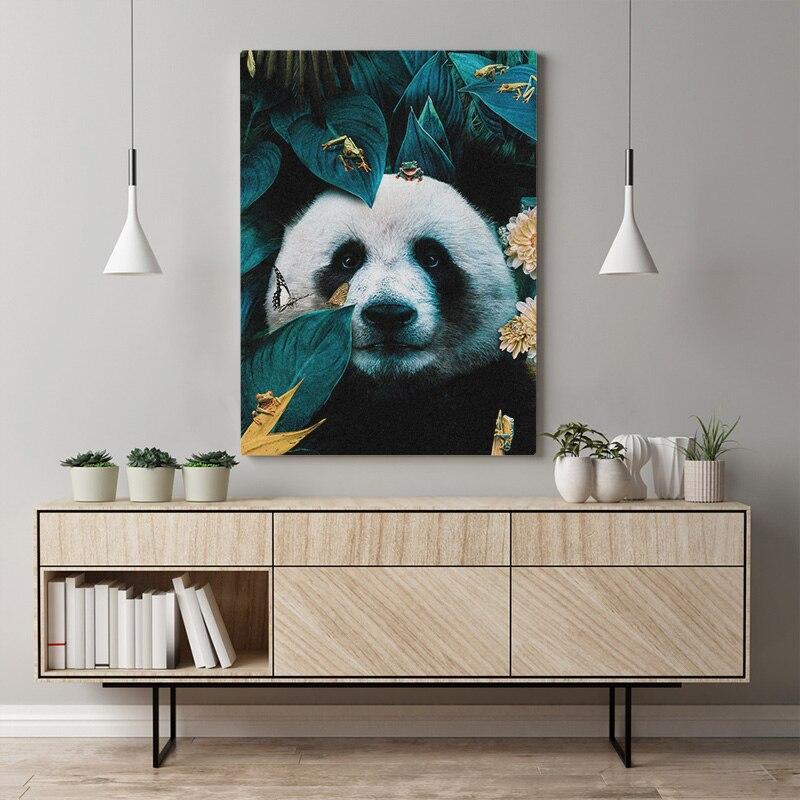 Tableau Panda Nature