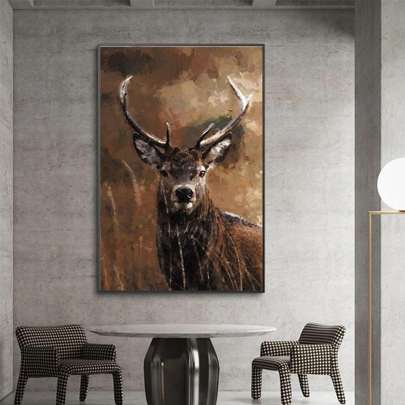 products tableau peinture acrylique animaux 2