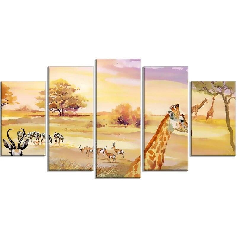 Tableau Girafe Acrylique