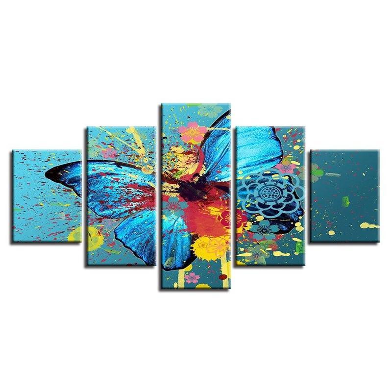 Tableau Papillon Acrylique