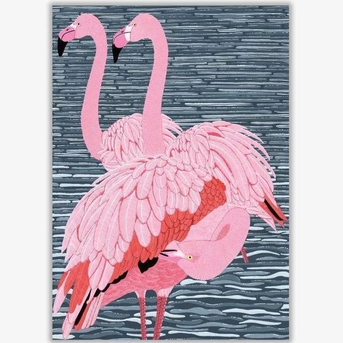 products tableau peinture flamant rose