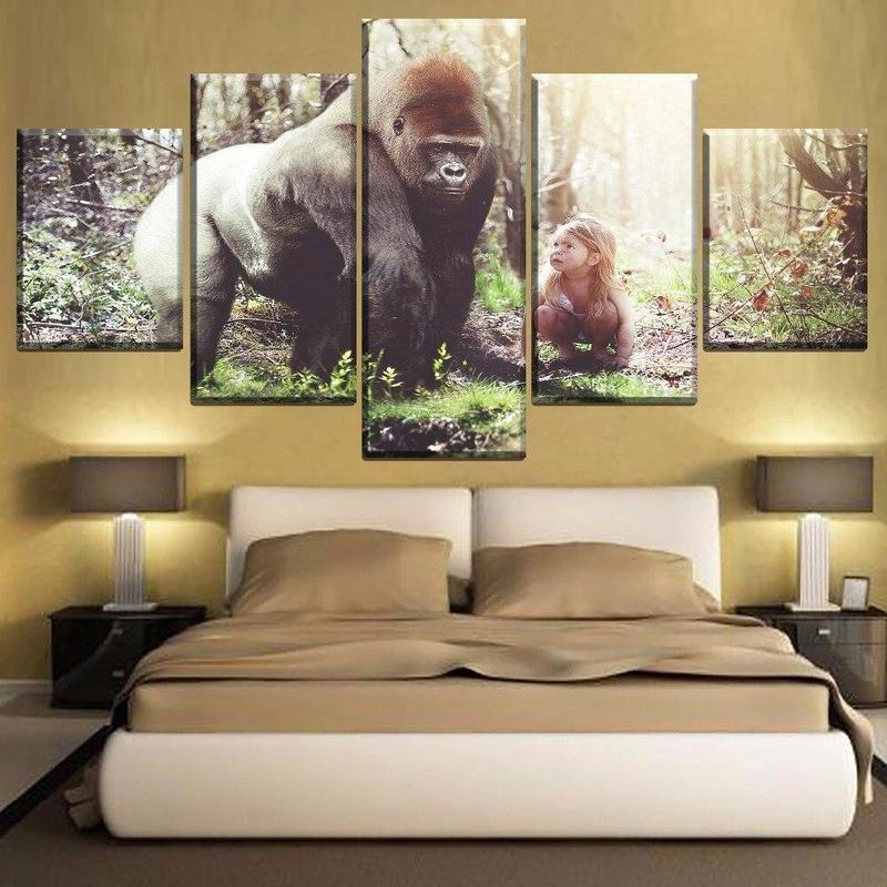 Tableau Gorille Sympa