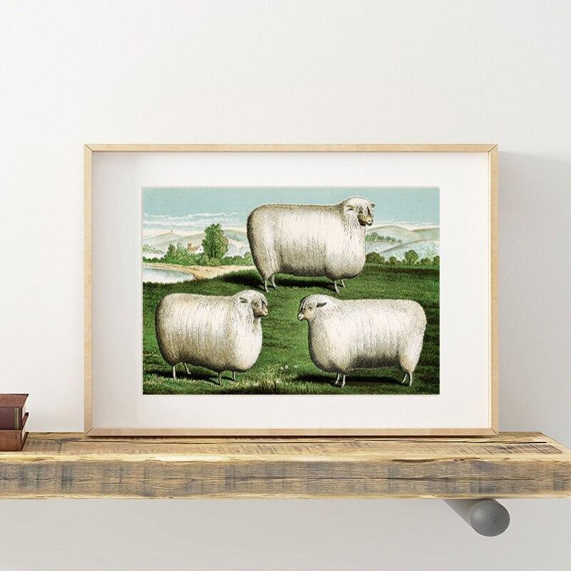 Tableau Mouton Déco