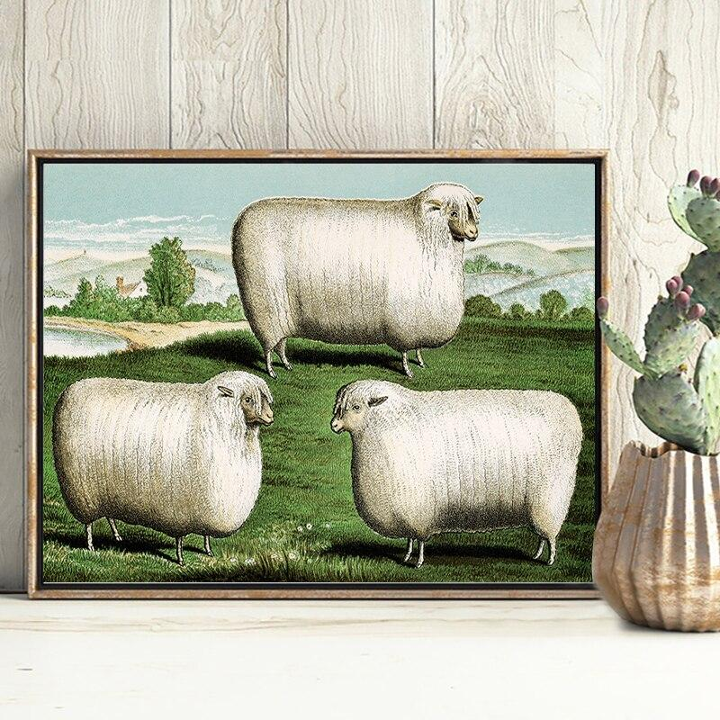 Tableau Moutons