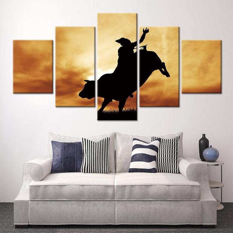 products tableau peinture taureau