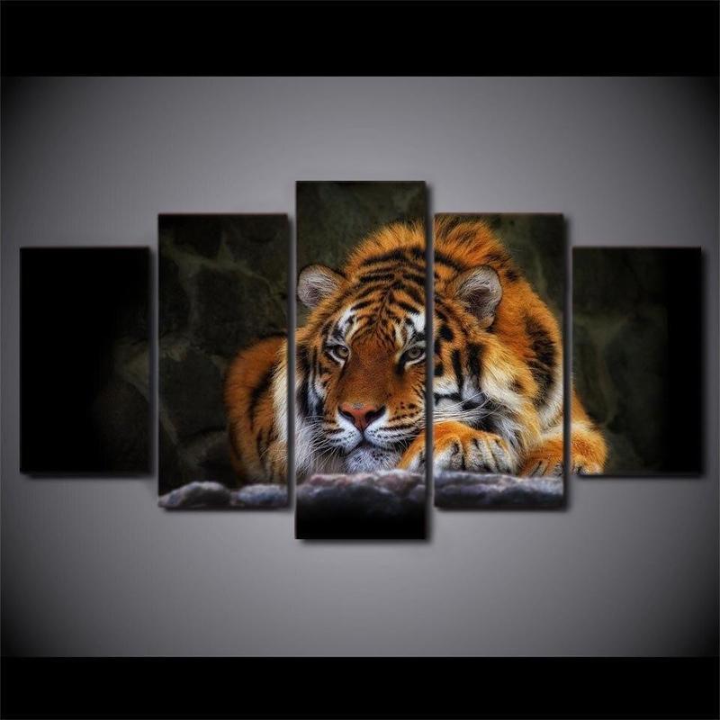 Grand Tableau Tigre