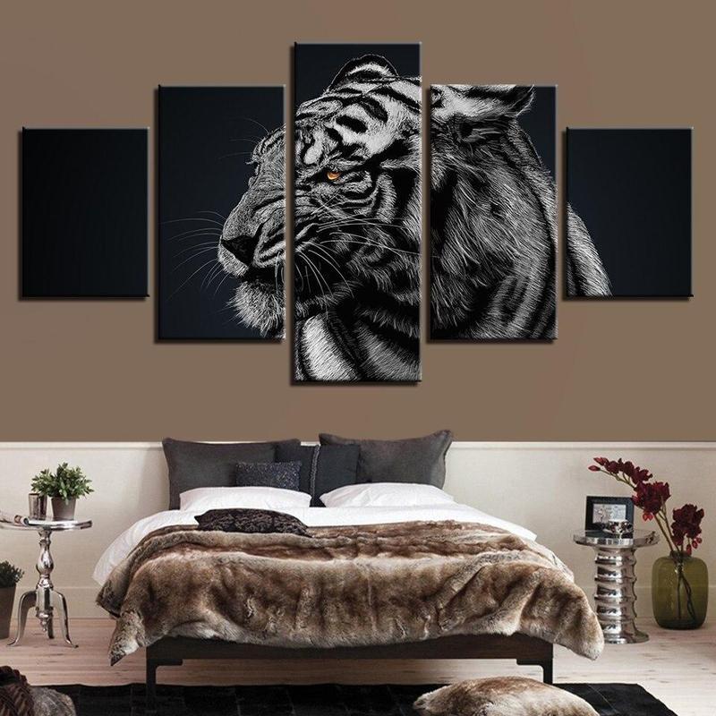 Tableau Tigre Féroce