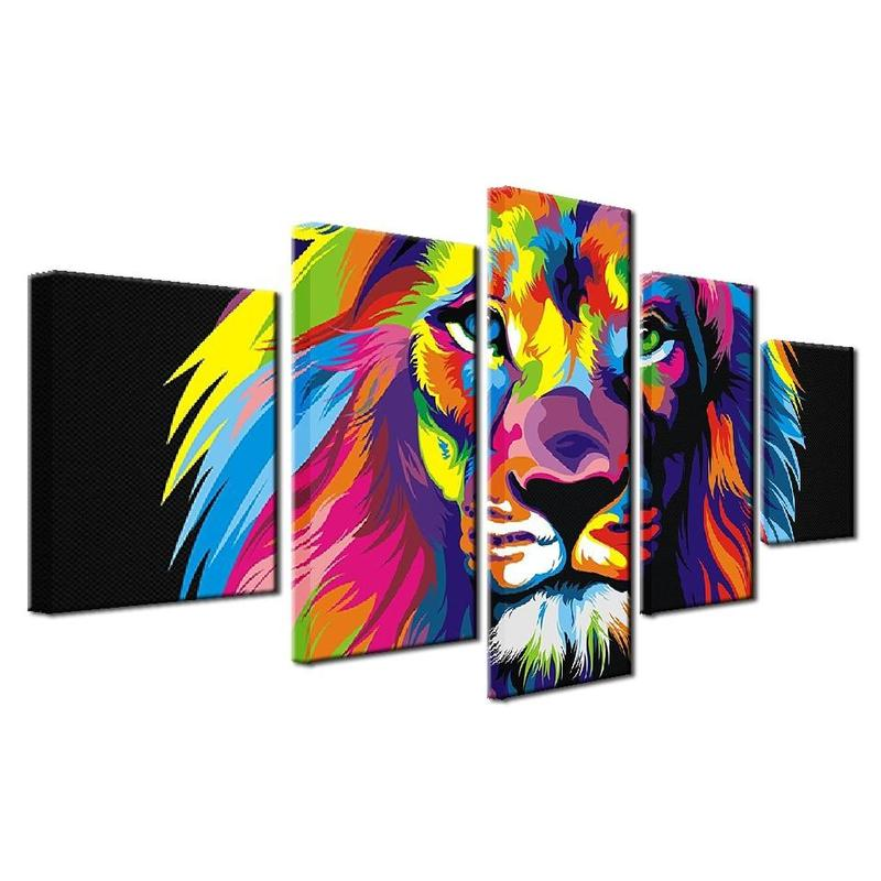 Tableau Deco Lion