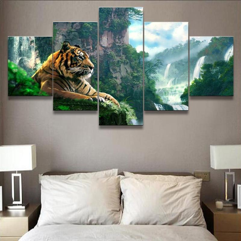 Tableau Tigre 3D