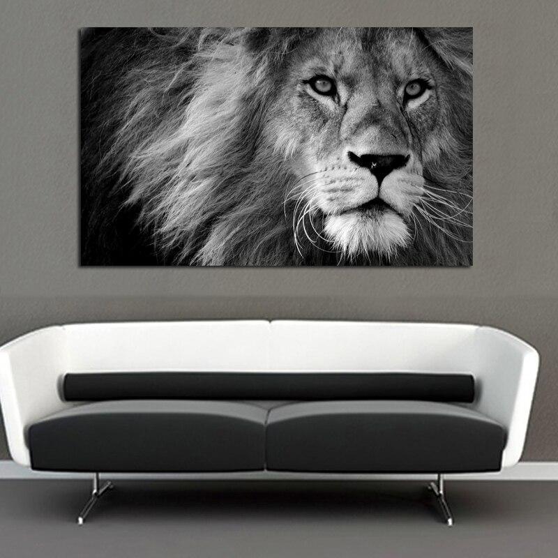 Tableau Lion Imposant
