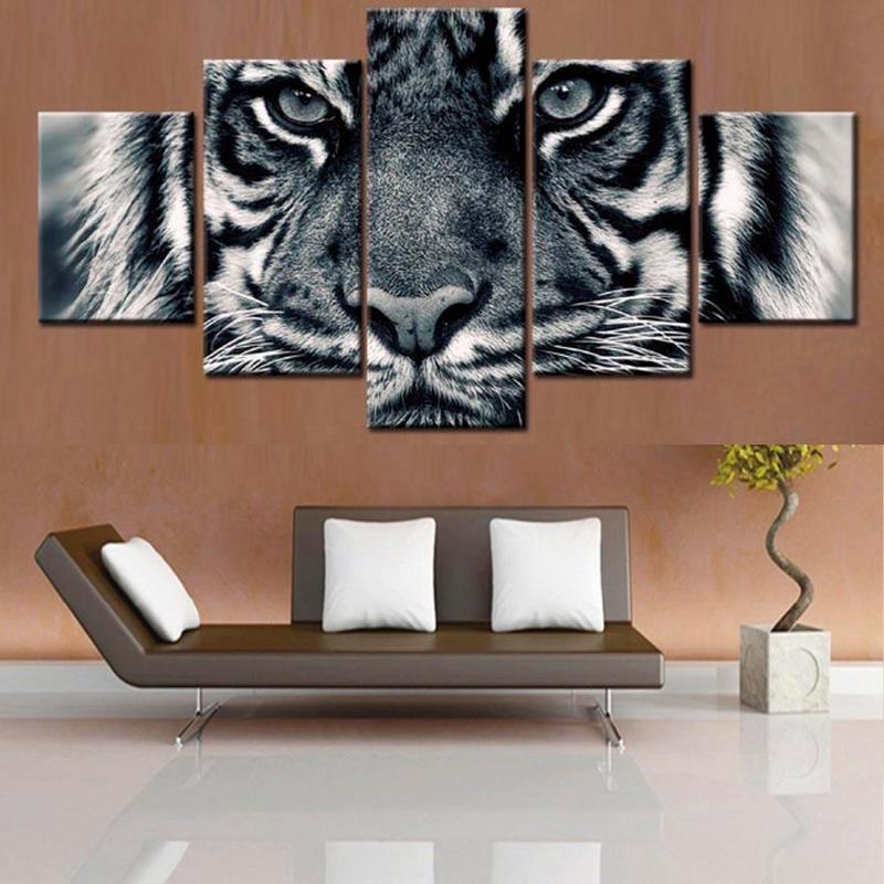 Tableau Tigre Perçant