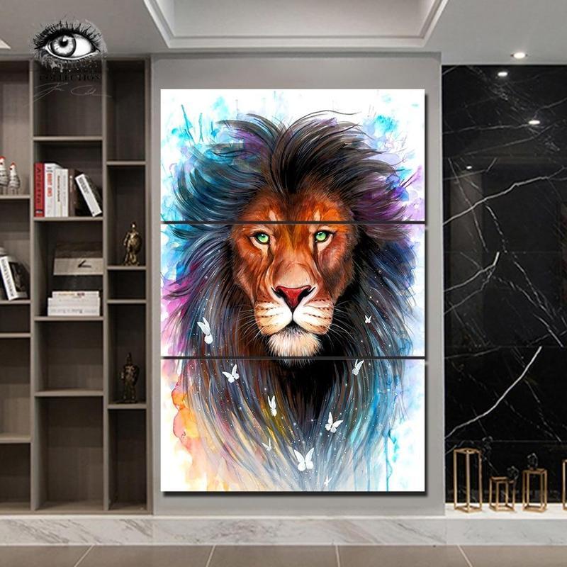 Tableau Lion Mirifique