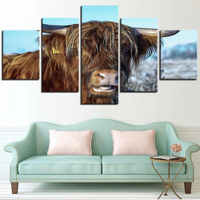 Tableau Vache Highland