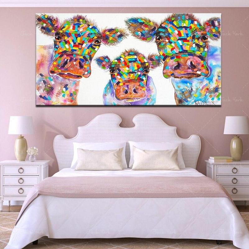 products tableau vache multicolore