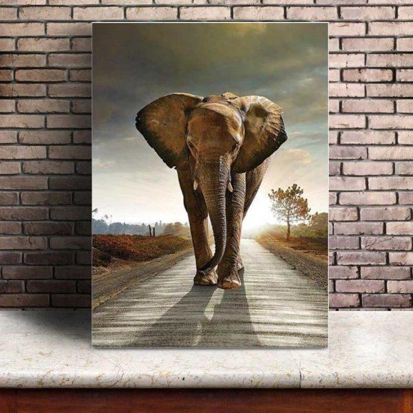 Toile Murale Éléphant