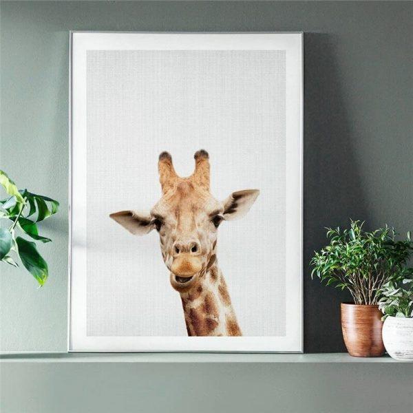 Toile Girafe Enfant