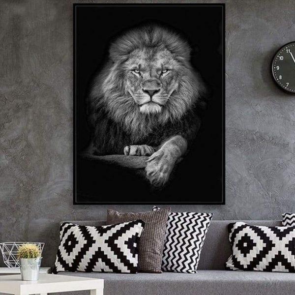 Grande Toile Lion