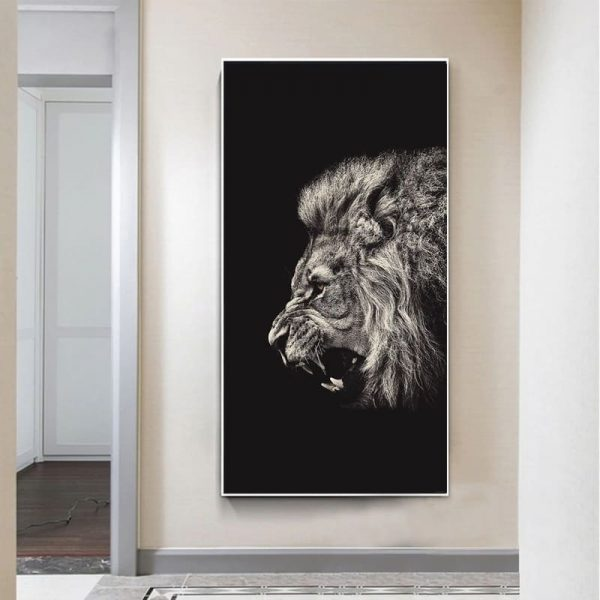 Toile Photo Lion