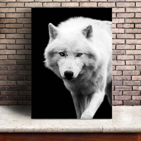 Toile Murale Loup