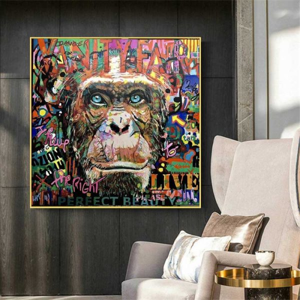 Poster Singe Pop Art