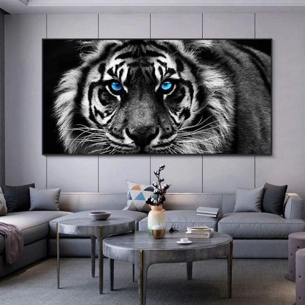 Toile Tête De Tigre