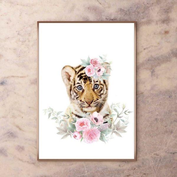 Poster Tigre Mignon