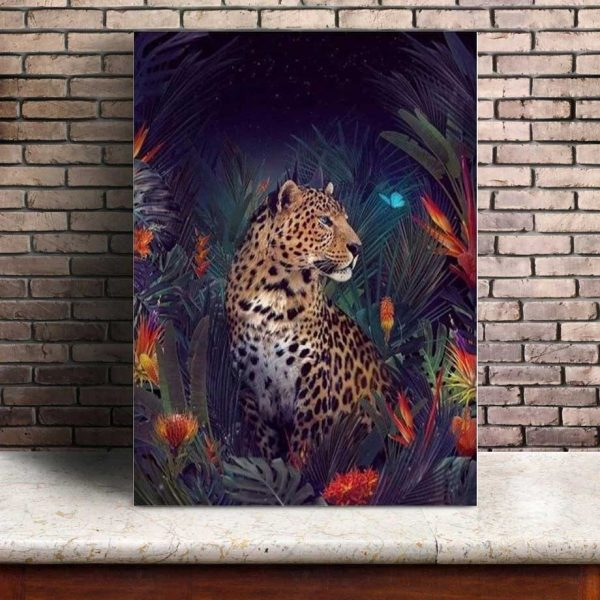Poster Animaux Jungle