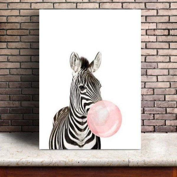 Poster Animaux Bulle